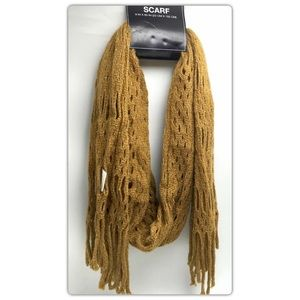 Accessories - Women's Scarf Winter Soft Fringe Acrylic  60x9in